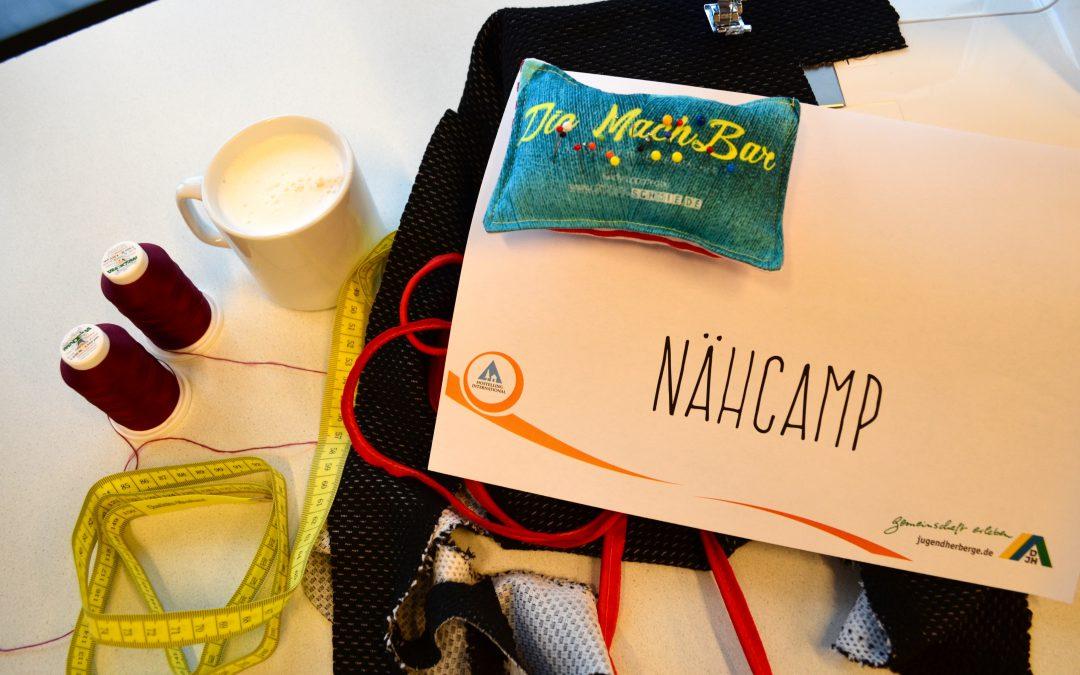 Unsere MachBar-Nähcamps sind online!