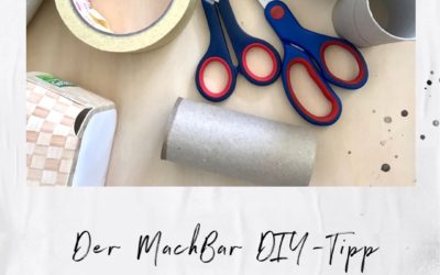 DIY-Tipp: Klopapierrollen-Upcycling